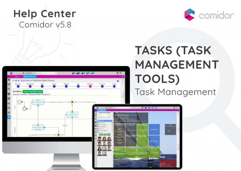 Tasks (Task Management tools)   Comidor Digital Automation Platform