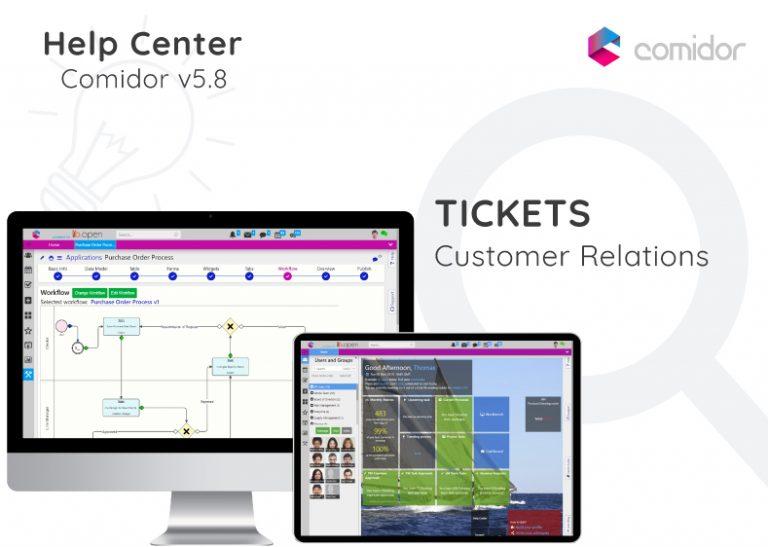 Tickets   Comidor Digital Automation Platform