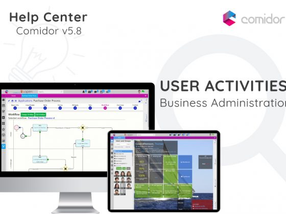 User Activities | Comidor Digital Automation Platform