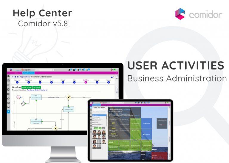 User Activities | Comidor Digital Automation Platform