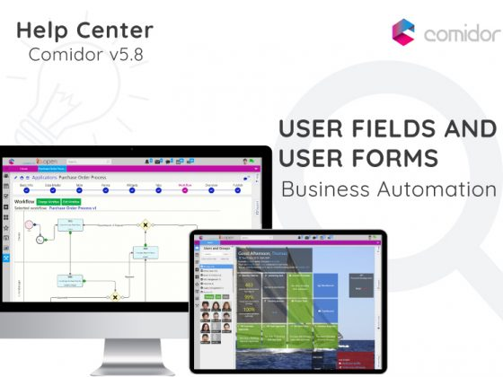 User Fields and User Forms | Comidor Digital Automation Platform