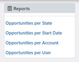 opportunities reports | Comidor Platform