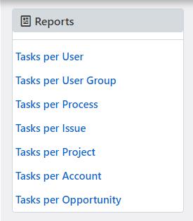 reports tasks | Comidor Platform