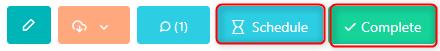 schedule - complete a task v.6| Comidor Platform