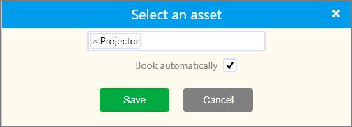 select an asset   Comidor Platform