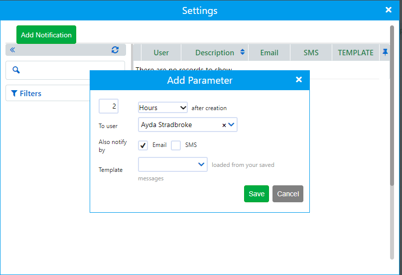 settings leads | Comidor Platform
