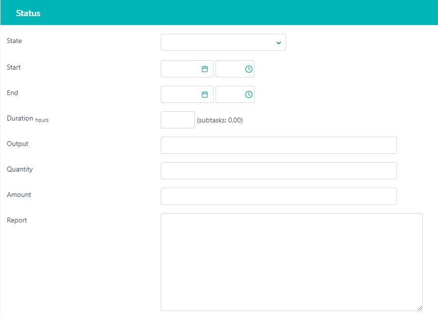 status of a task v.6| Comidor Platform