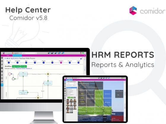 HRM Reports | Comidor Digital Automation Platform