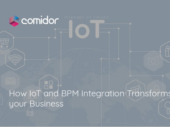 How IoT and BPM Integration Transforms your Business | Comidor Digital Automation Platform