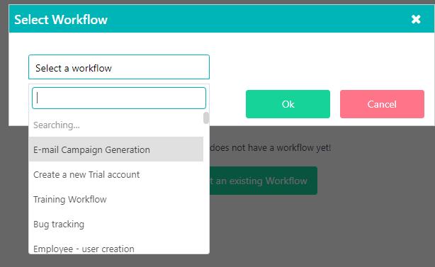 App builder workflow | Comidor Platform