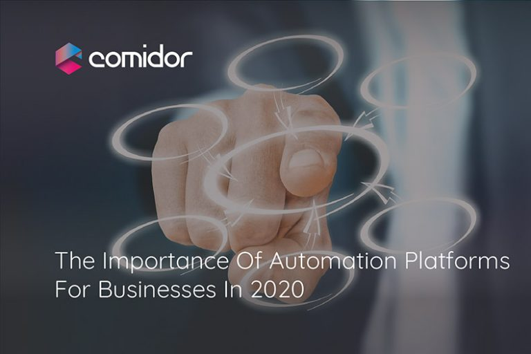 The Importance Of Automation Platforms For Businesses In 2020 | Comidor Digital Automation Platform