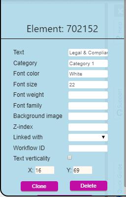 Enterprise canvas label | Comidor Platform