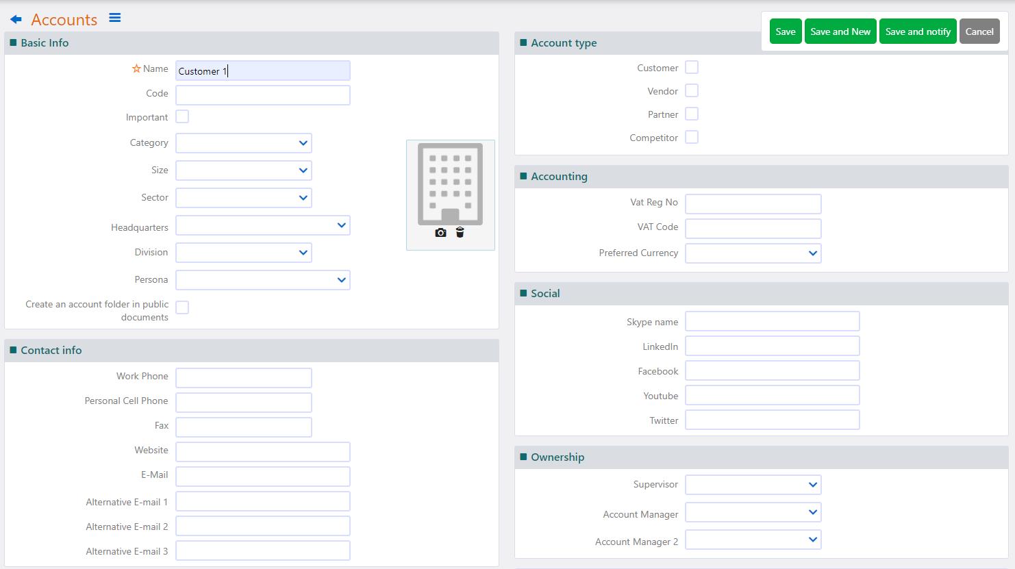 Create Account | Comidor Platform