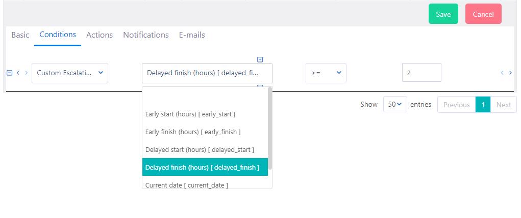 Workflow escalation   Comidor Platform