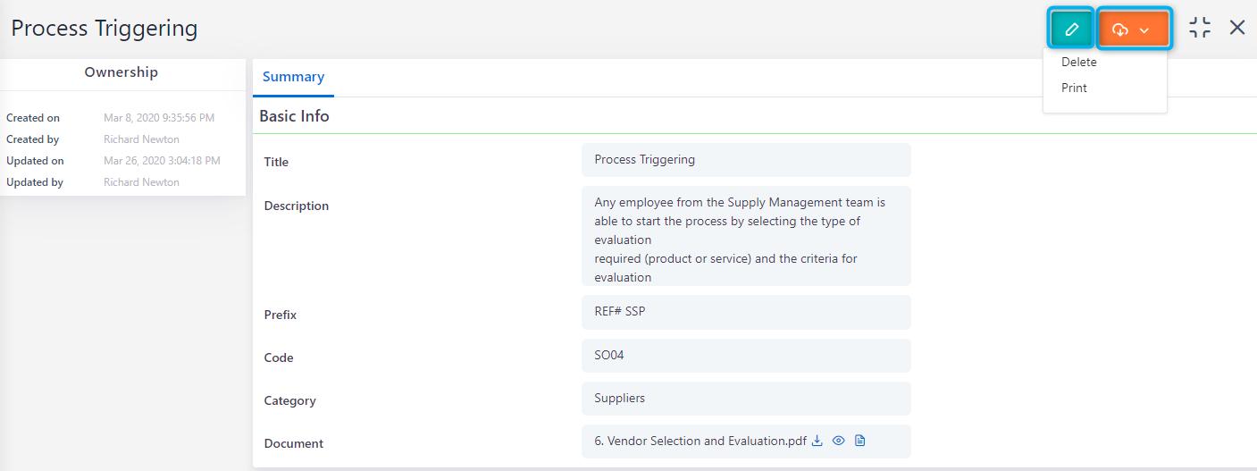 Workflow SPP | Comidor Platform