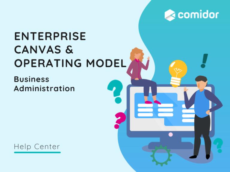 enterprise canvas v.6  Comidor Platform