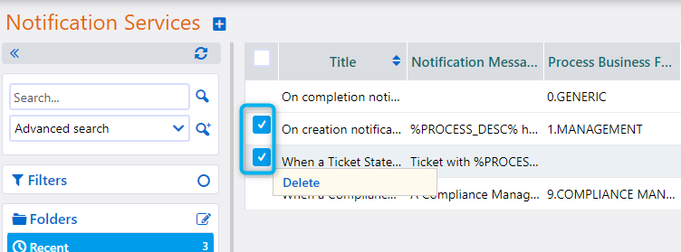Notification Services | Comidor Platform