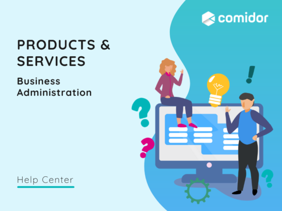products and services v.6  Comidor Platform