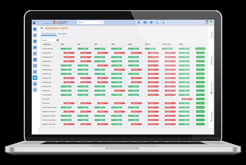 system administration | Comidor Platform