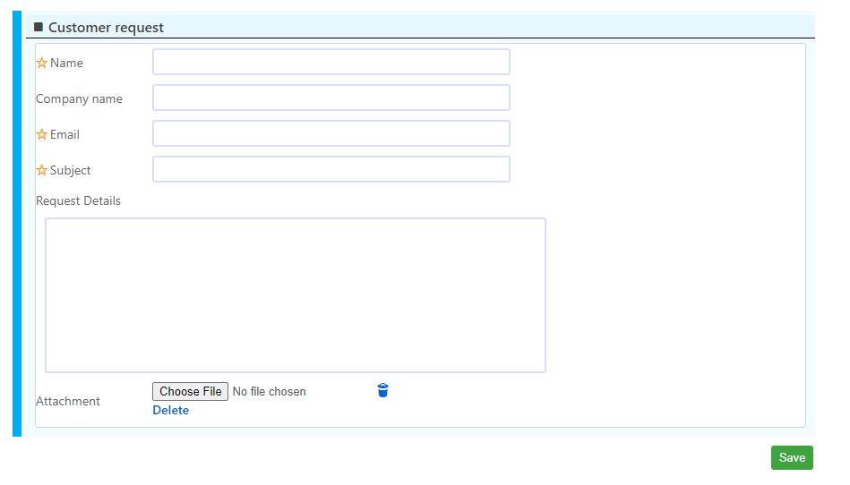 Public Form | Comidor Platform