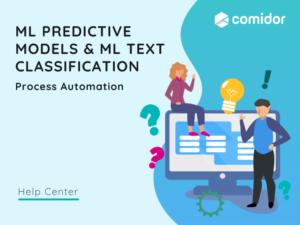 ML Text Classification featured | Comidor Platform