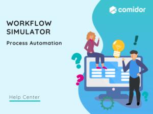 Workflow Simulator featured | Comidor Platform
