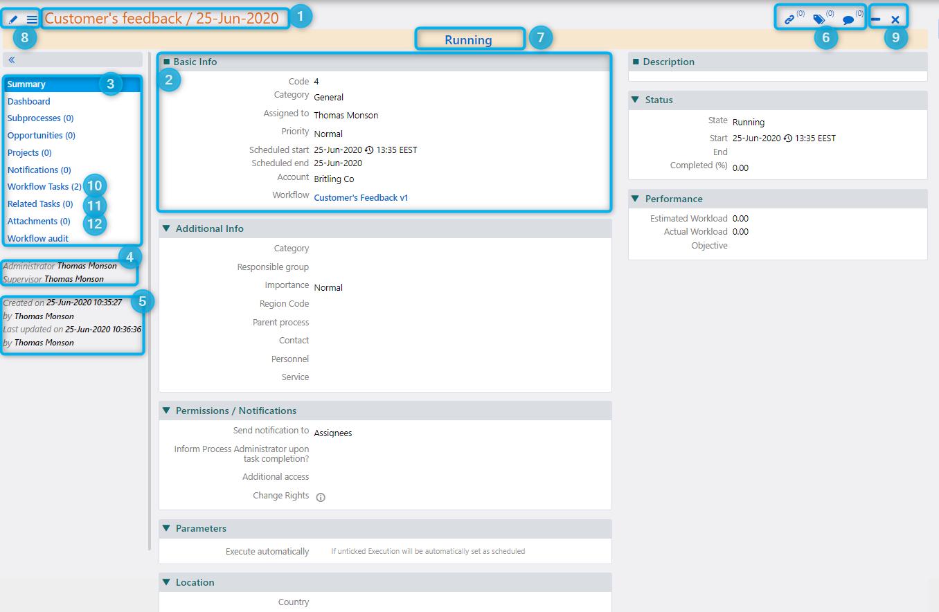 Data management | Comidor Platform