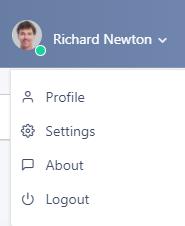 User settings | Comidor Platform