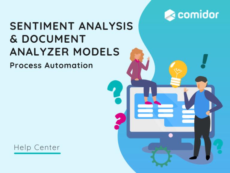 Sentiment Analysis & Document Analyzer Models | Comidor Platform