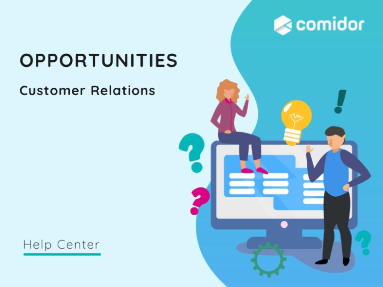 Opportunities featured | Comidor Platform