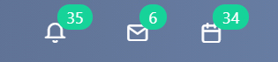 notification bar v.6  Comidor Platform