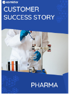 Pharma Case Study | Comidor Digital Automation Platform