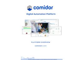 Comidor Platform Overview | Comidor Digital Automation Platform