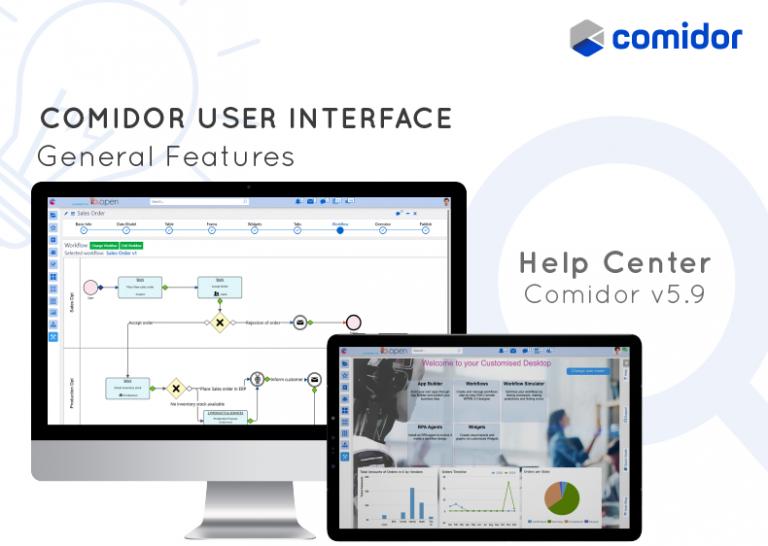 user interface | Comidor Platform