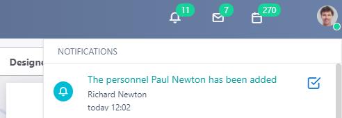 new notification v.6| Comidor Platform