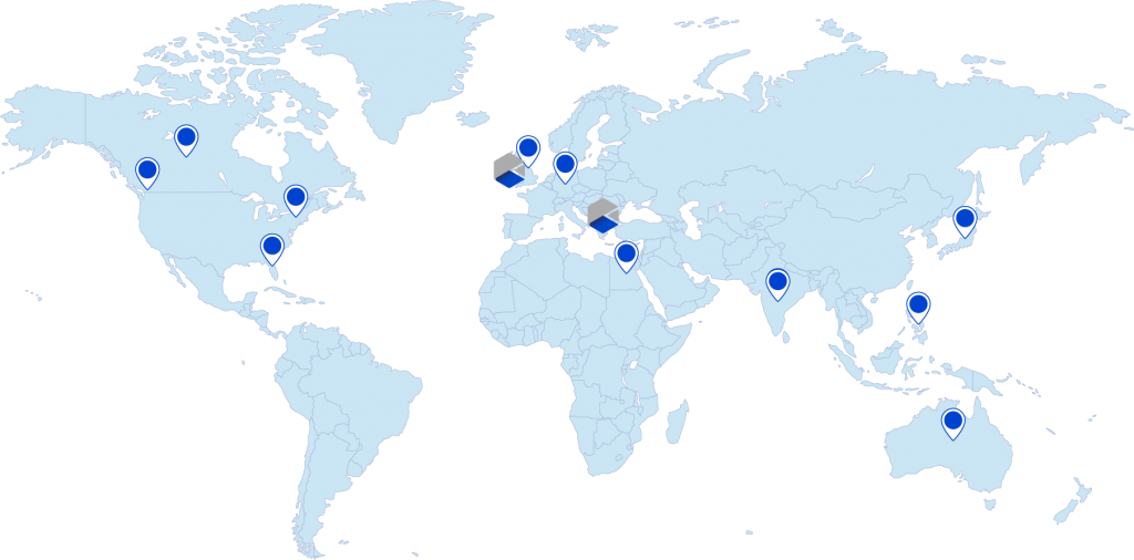 Comidor Partners around the world   Comidor Digital Automation Platform
