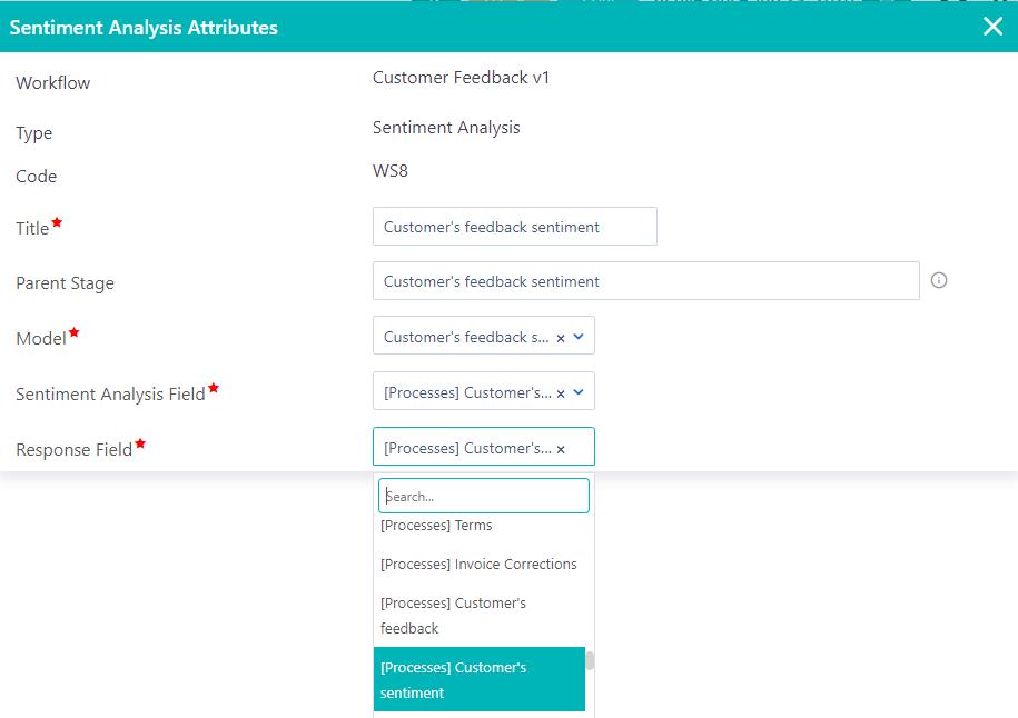Sentiment Analysis | Comidor Platform