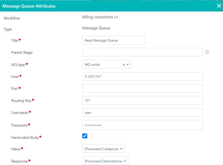 Workflow components MQ | Comidor Platform
