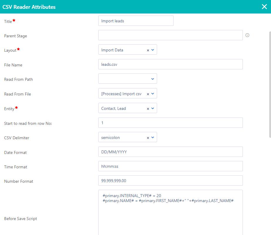 Workflow file reader | Comidor Platform