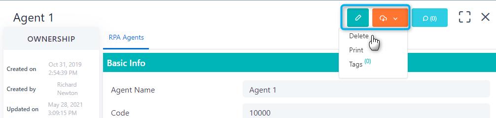 RPA Agents | Comidor Platform