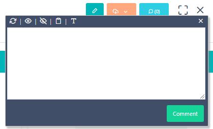 Add comment - Contact v.6| Comidor Platform