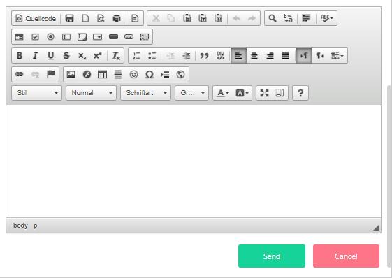 Email survey 2- Contact v.6| Comidor Platform