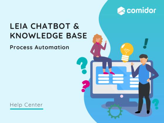 Leia Chatbot and Knowledge Base | Comidor BPM Platform