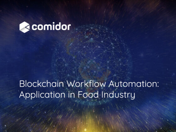 Blockchain Workflow Automation | Comidor Digital Automation Platform