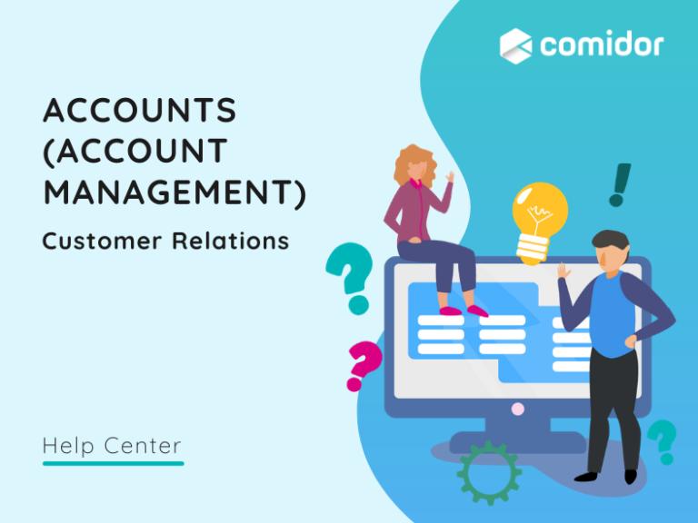 ACCOUNTS (Account Management) v.6| Comidor Platform