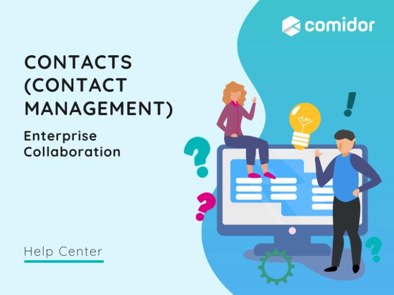 ontacts - Contact Management v.6|Comidor Platform