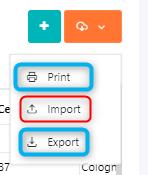 Print-import contacts v.6| Comidor Platform