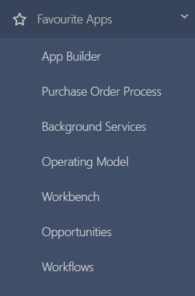 favourite apps v.6  Comidor Platform
