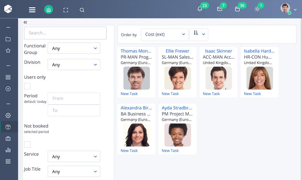 People Management | Comidor Low-Code Automation Platform