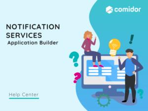 Notification Services featured | Comidor Platform
